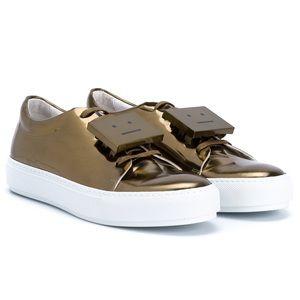 Acne Studios Adrianna Metallic Sneakers